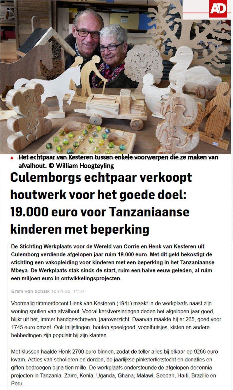Algemeen Dagblad - 10-01-2020