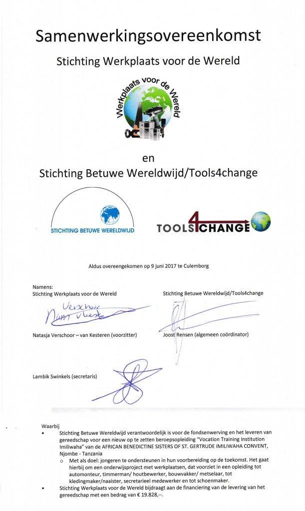 Samenwerkingsovereenkomst BWW
