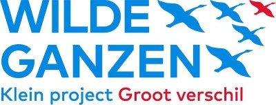 Wilde Ganzen klein project groot verschil logo