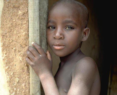 Kind in Tanzania